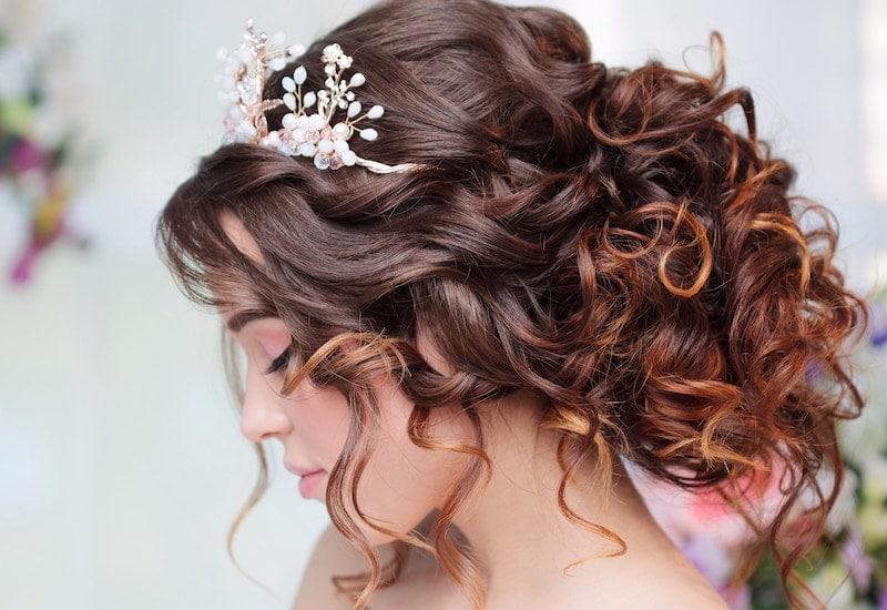 hair bridal event